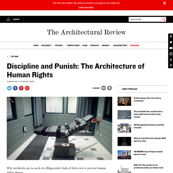 Discipline and Punish: The Architecture of Human Rights