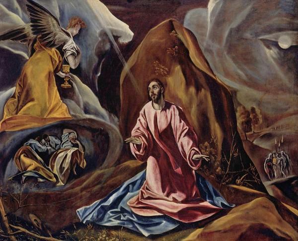 La Oración del Huerto, El Greco