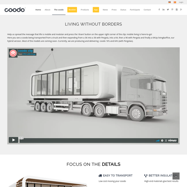 coodo is mobile living