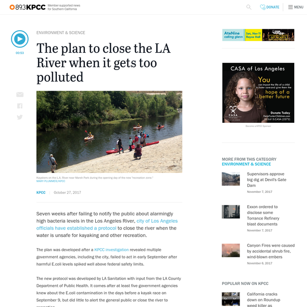 How we'll close the LA River when it gets too polluted