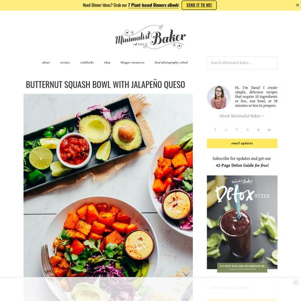 Minimalist Baker | Simple Food, Simply Delicious