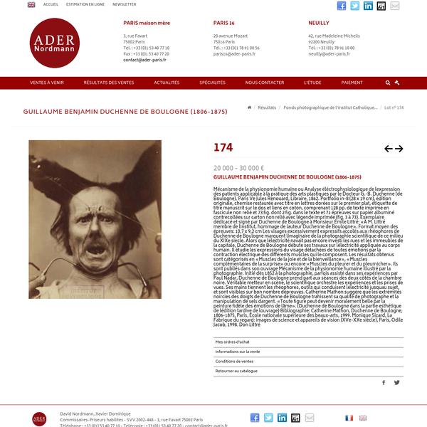 Guillaume Benjamin Duchenne de Boulogne Mécanisme de la physionomie hu