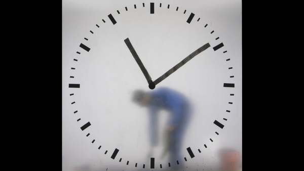 Real Time: Schiphol Clock