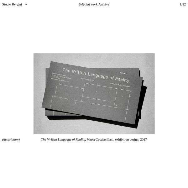 Kristian Hjorth Berge → Royal Duplication Centre (and Studio Bergini)