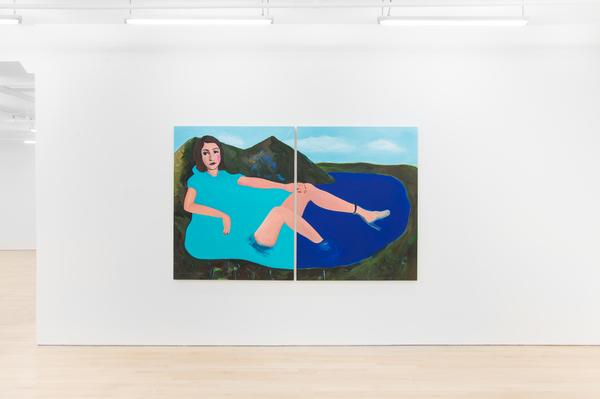 Becky Kolsrud, Allegorical Nudes, 2017