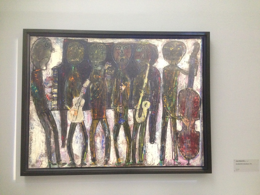 Jean Dubuffet -  Grand Jazz Band (New Orleans), 1944