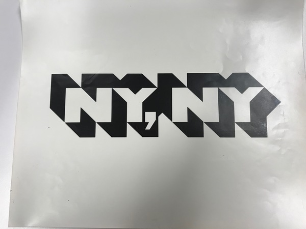 logo for NYC, Lubalin