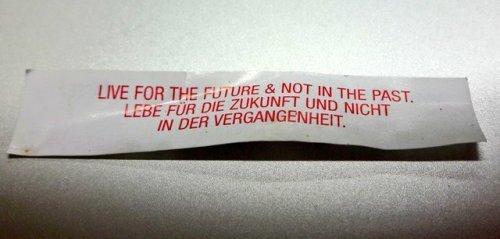 "Liska Surkemper @laliscaMy fortune cookie already knows my plans for 2night: 7p.m. talk ""Zukunft vs. Gegenwart"" @BNKRspace @aavarmen @HNSGR"