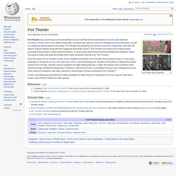 Fort Thunder - Wikipedia