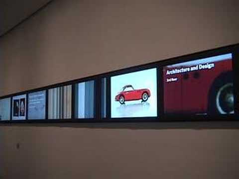 Museum of Modern Art: Screens (live clip)