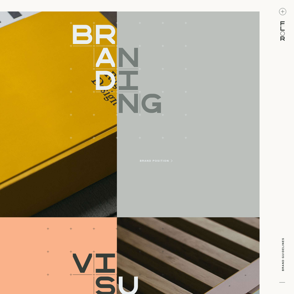 FLOR Brand Guide by Firebelly Design