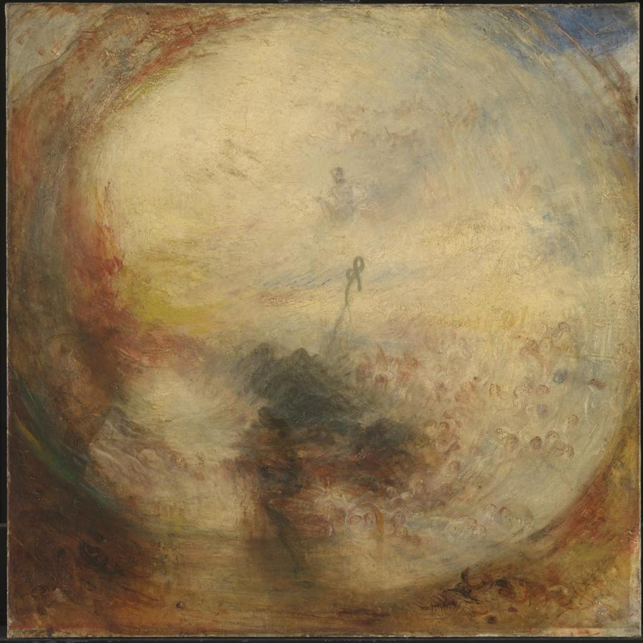 Light and Colour (Goethe's Theory) - the Morning after the Deluge - Moses Writing the Book of Genesis, Turner, exhibited 1843