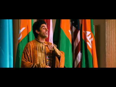 Sample scene from The Dictator movie. Brilliant speech criticizing american policies. The movie is a must-see.