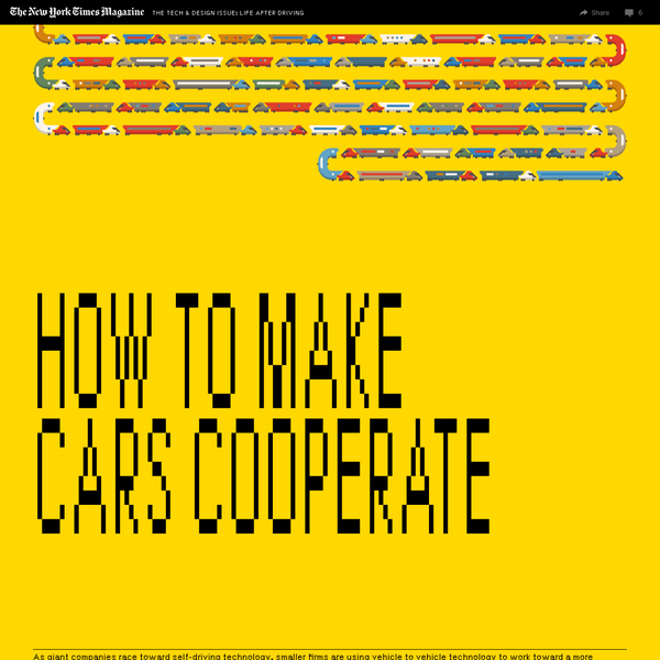How to Make Cars Cooperate