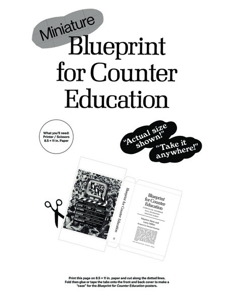 DIY Blueprint for Counter Education pocket edition