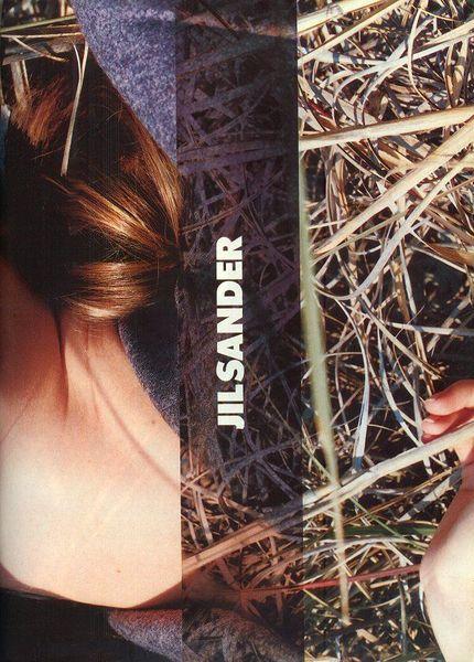 Jil Sander Fall/Winter 97.98 (Ad Campaign)