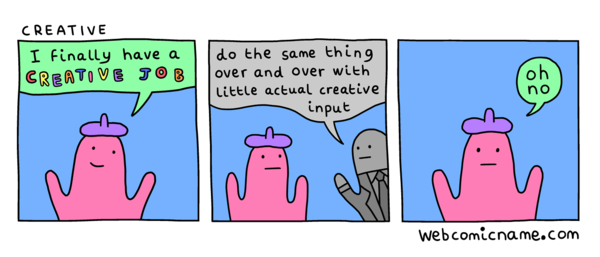 Creative Job - Webcomic Name