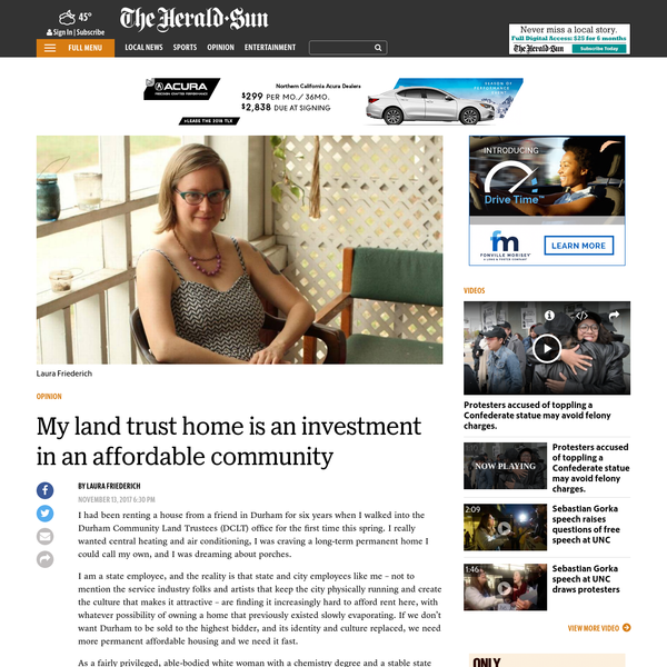 My land trust home is an investment in an affordable community