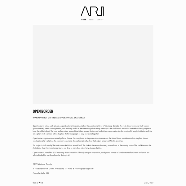 Atelier ARI Rotterdam - Architecture, Interior and Product Design by Joyce de Grauw en Paul van den Berg.