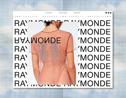 Raymonde - identity - webdesign