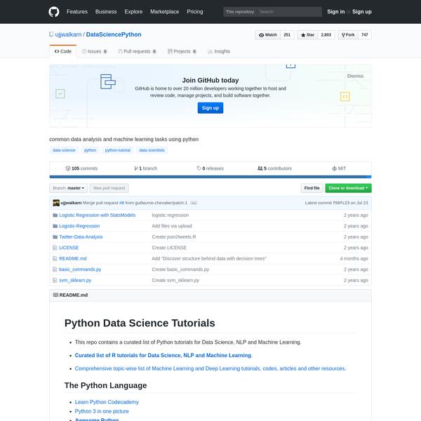 ujjwalkarn/DataSciencePython