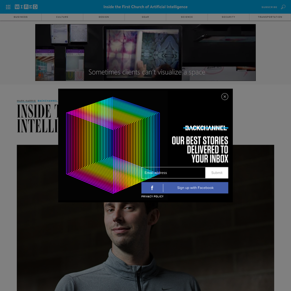 Anthony Levandowski makes an unlikely prophet. Dressed Silicon Valley-casual in jeans and flanked by a PR rep rather than cloaked acolytes, the engineer known for self-driving cars-and triggering a notorious lawsuit-could be unveiling his latest startup instead of laying the foundations for a new religion. But he is doing just that.