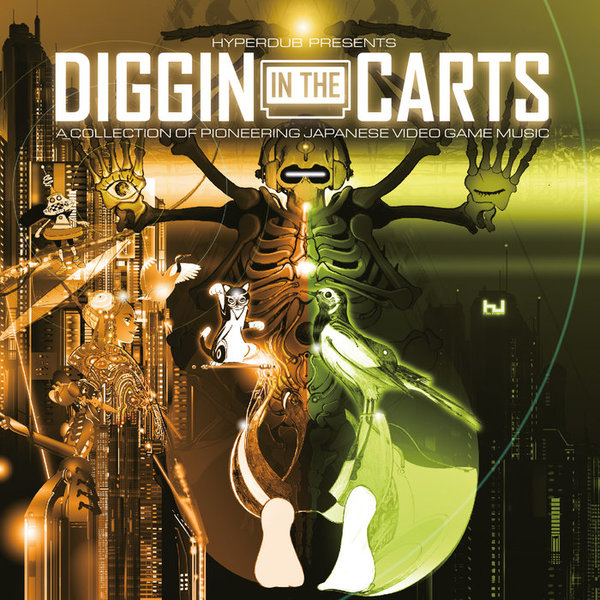 Various Artists: Diggin' In The Carts, A Collection Of Pioneering Japanese Video Game Music by Hyperdub, released 17 November 2017 1. Konami Kukeiha Club - Opening (Cosmic Wars) 2. Konami Kukeiha Club - Mazed Music (Nemesis) 3. Norio Nakagata - Big Mode (Genpel Touma Den) 4. Michiharu Hasuya - Hidden Level (Solomon's Key) 5.