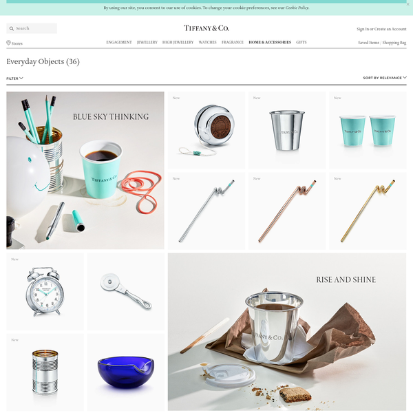 Everyday Objects | Luxury Jewellery, Gifts & Accessories Since 1837.