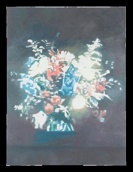 Luc Tuyman - Technicolor (2012)  Oil on canvas 78 3/8 x 59 1/8 inches (199 x 150.1 cm)