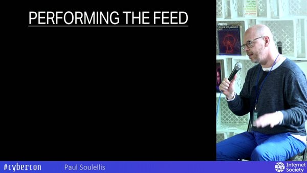 PERFORMING THE FEED - from Cybernetics Conference
