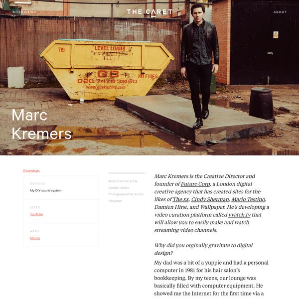 Marc Kremers | The Caret