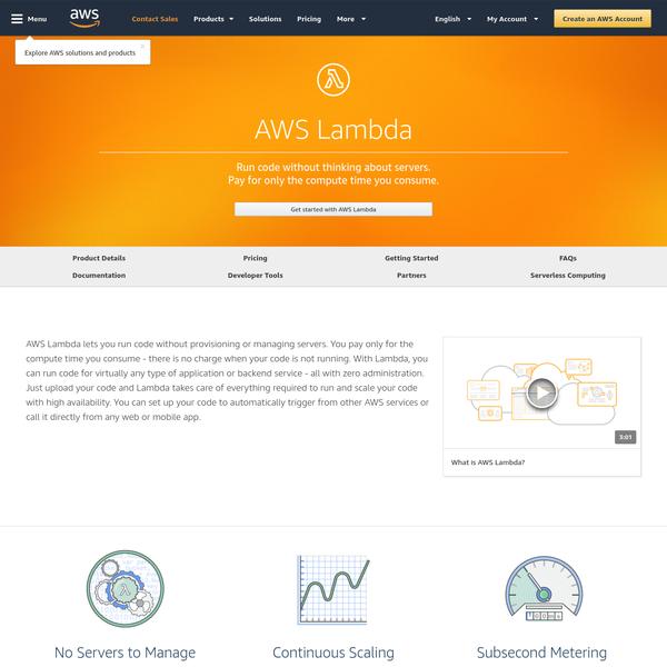 AWS Lambda - Serverless Compute