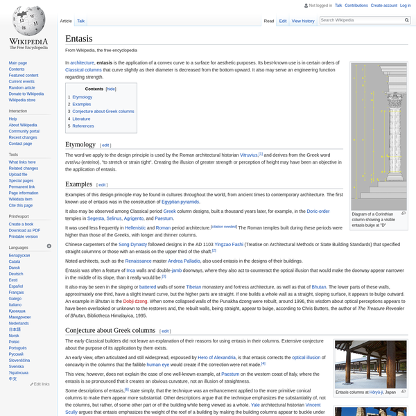 Entasis - Wikipedia
