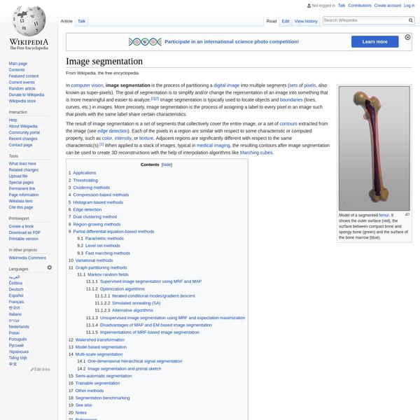 Image segmentation - Wikipedia