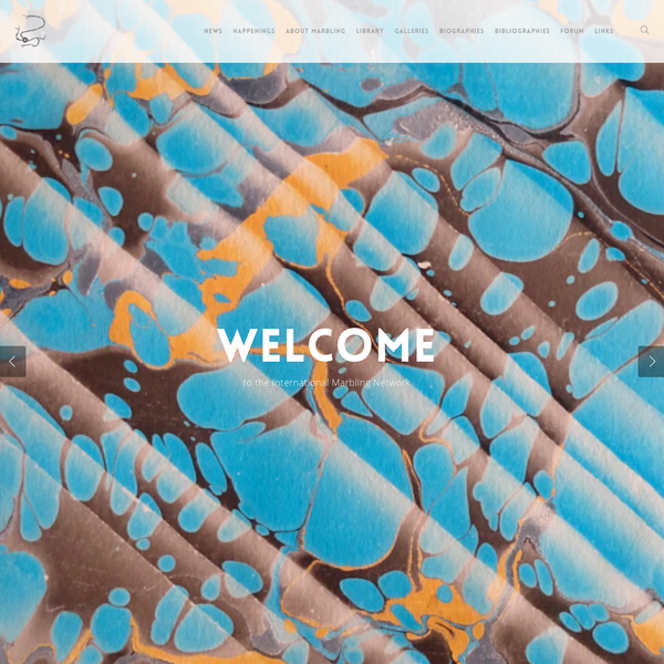 Welcome - The International Marbling Network