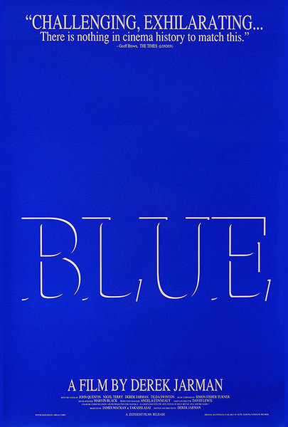 Blue (Derek Jarman, 1993)