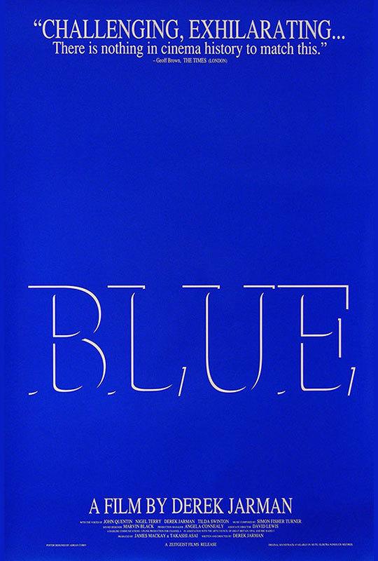 Blue (Derek Jarman, 1993)