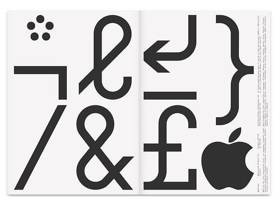 Neubau / NB Grotesk Pro Mono Edition / Typeface / 2011 - @neubauberlin #neubau #nbgroteskpro #monoedition #typeface #2011 - #design #graphicdesign #typography #typedesign #glyphs