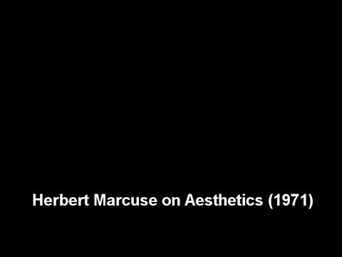 Herbert Marcuse on Aesthetics (1971)