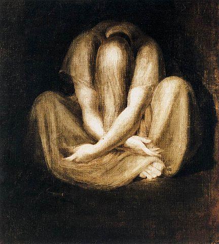 Johann Heinrich Fussli - Silence