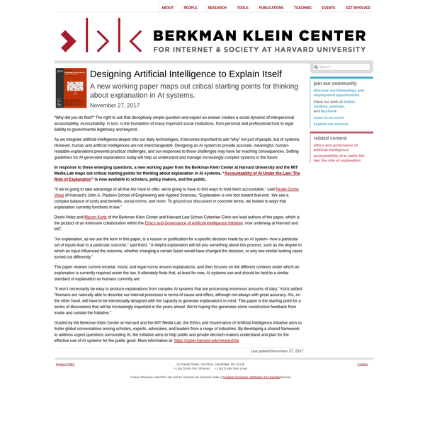 """As we integrate artificial intelligence deeper into our daily technologies, it becomes important to ask """"why"""" not just of people, but of systems. However, human and artificial intelligences are not interchangeable. Designing an AI system to provide accurate, meaningful, human-readable explanations presents practical challenges, and our responses to those challenges may have far-reaching consequences."""