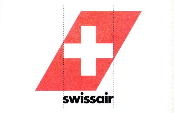 Karl Gerstner — Swissair