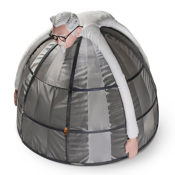 Remember when we used to spend time with people instead of our phones? Well, one person out there can have that luxury again with KFC's one of a kind Internet Escape Pod, designed to be a safe space from the internet. http://www.adweek.com/agencies/kfcs-latest-stunt-will-let-you-escape-from-the-internet-if-you-have-10000-to-spend/