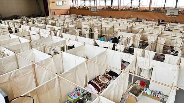 Shigeru Ban, Relief Shelter Interior