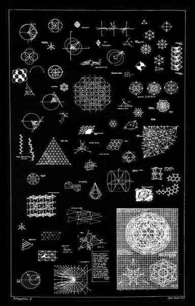 "Agnes Denes ""Thought Complex"" (1972)"