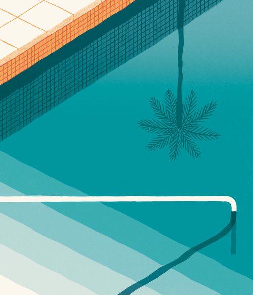 Poolside by David Doran