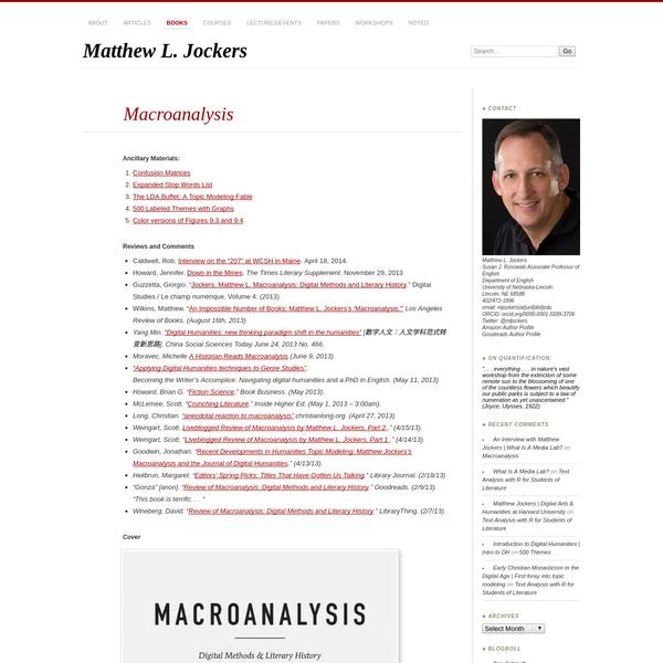 Matthew L. Jockers