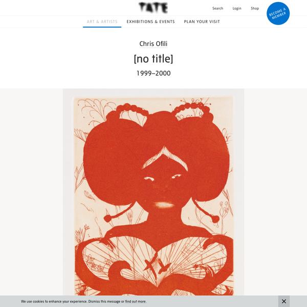 '[no title]', Chris Ofili, 1999-2000 | Tate