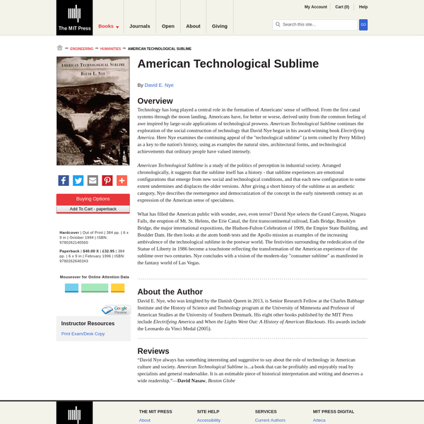 American Technological Sublime