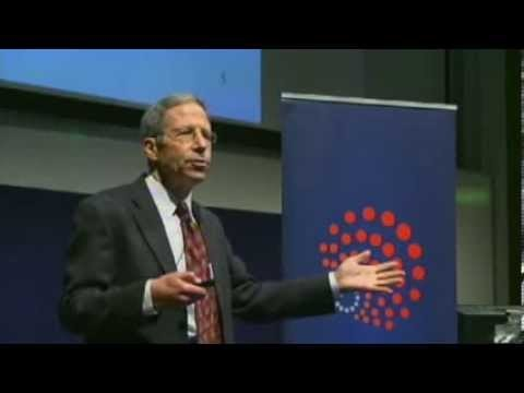 Professor Eric Maskin giving the keynote address on 'How to Make the Right Decisions without knowing People's Preferences: An Introduction to Mechanism Design' at the Warwick Economics Summit 2014. Eric Maskin is an American Economist and Nobel laureate. He was awarded the Nobel Prize in Economic Sciences in 2007, alongside Leonard Hurwicz and Roger B.
